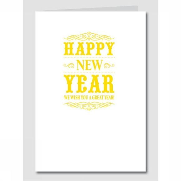 COLLECTION DE NOEL PAP HAPPY NEW YEAR - GEEL