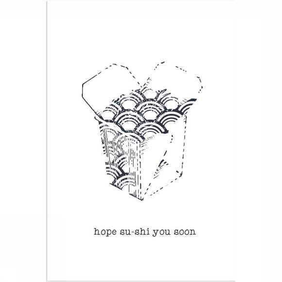 Card Hope Su-Shi You Soon 10X15