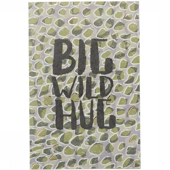 Yaya Home Postkaart Postcard Double Big Wild Hug Assortiment