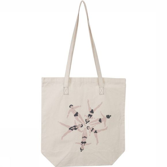 Yaya Cadeau Vrouwen Tote Bag Swimmers NATUREL