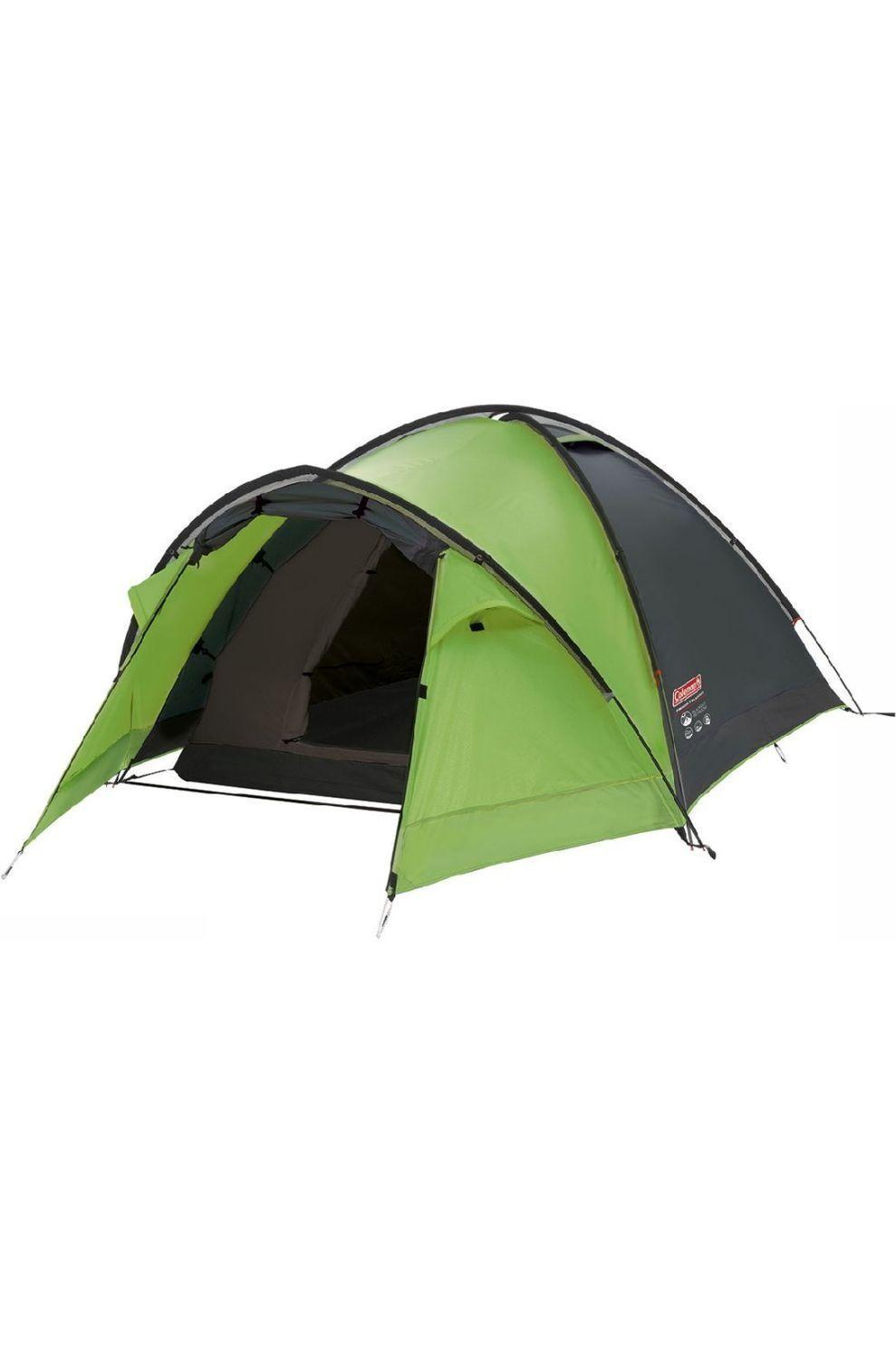 Coleman Tent Pingora Blackout Groen-Zwart