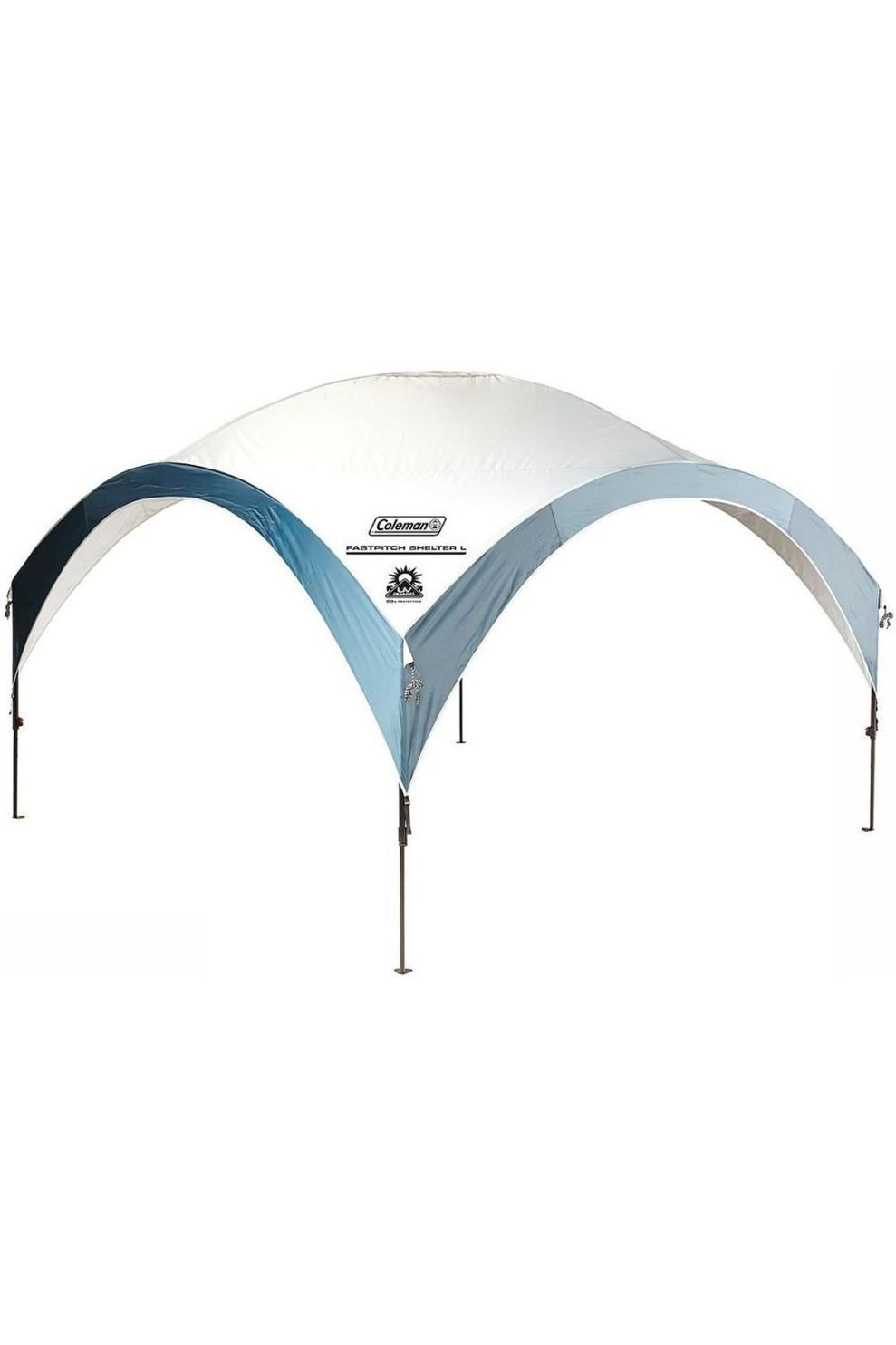 Coleman Tarps Fastpitch Shelter L - Wit/Blauw