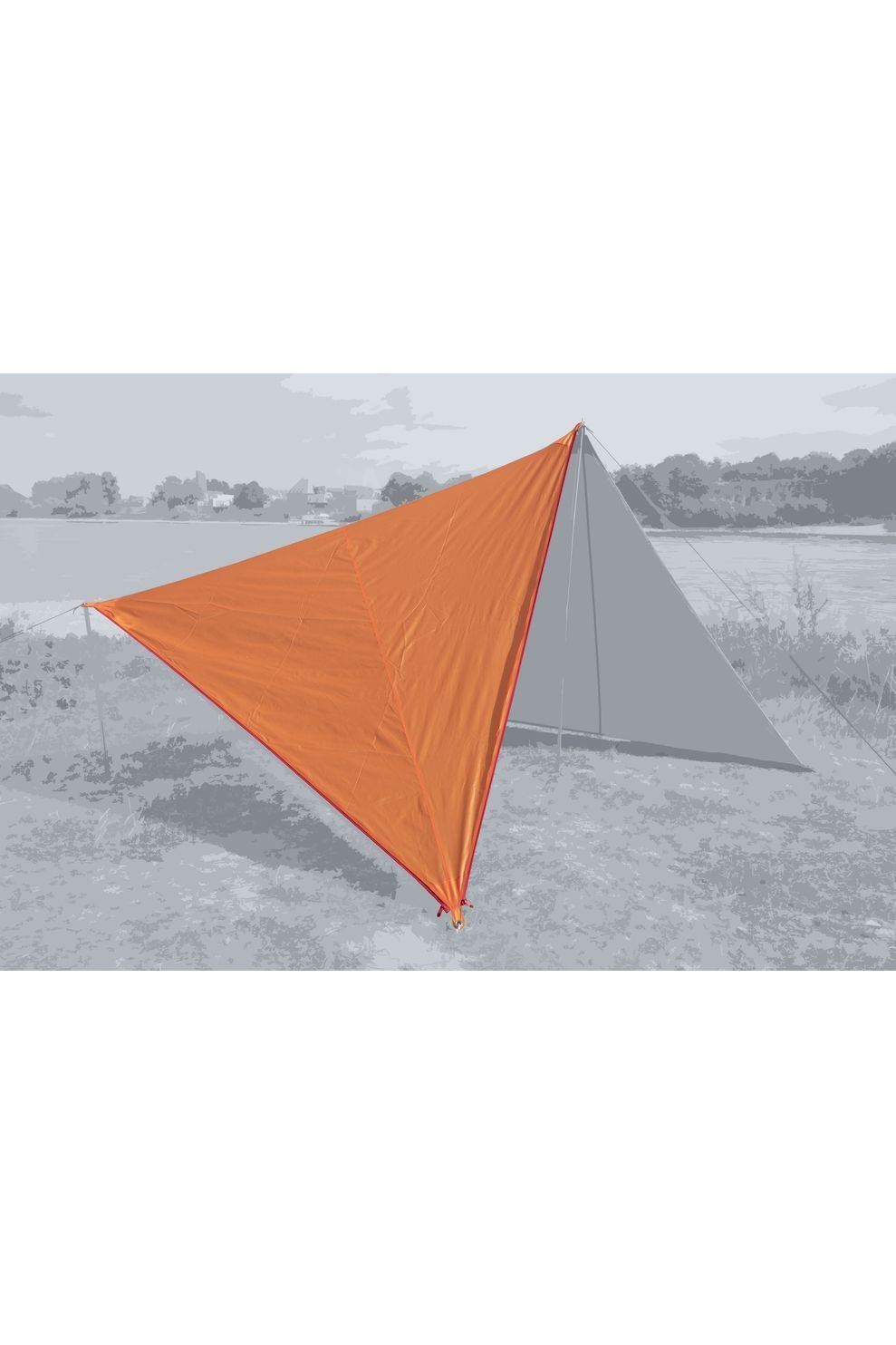 Bent Tarps Canvas Plain Set - Oranje