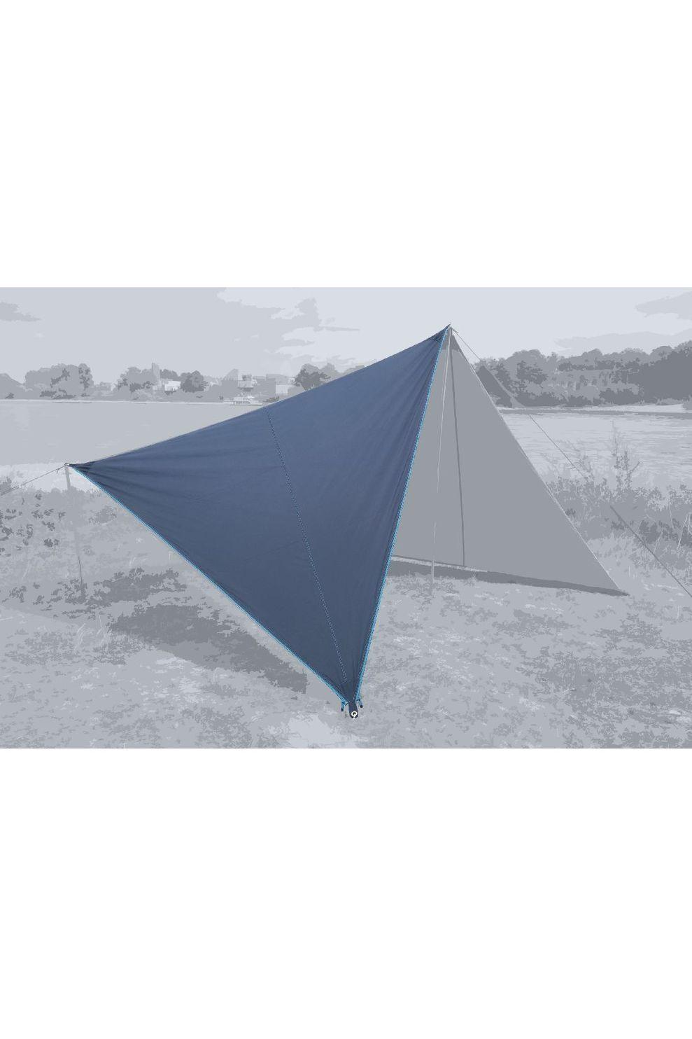 Bent Tarps Canvas Plain Set - Blauw
