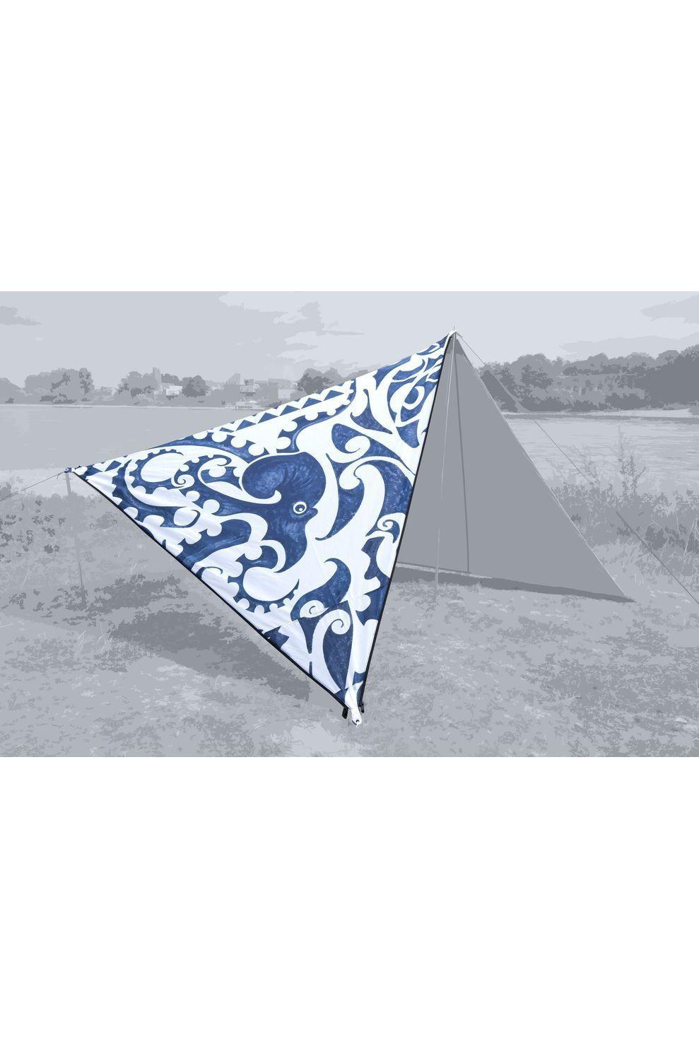 Bent Tarps Canvas Allover Set New Zealand - Wit/Blauw