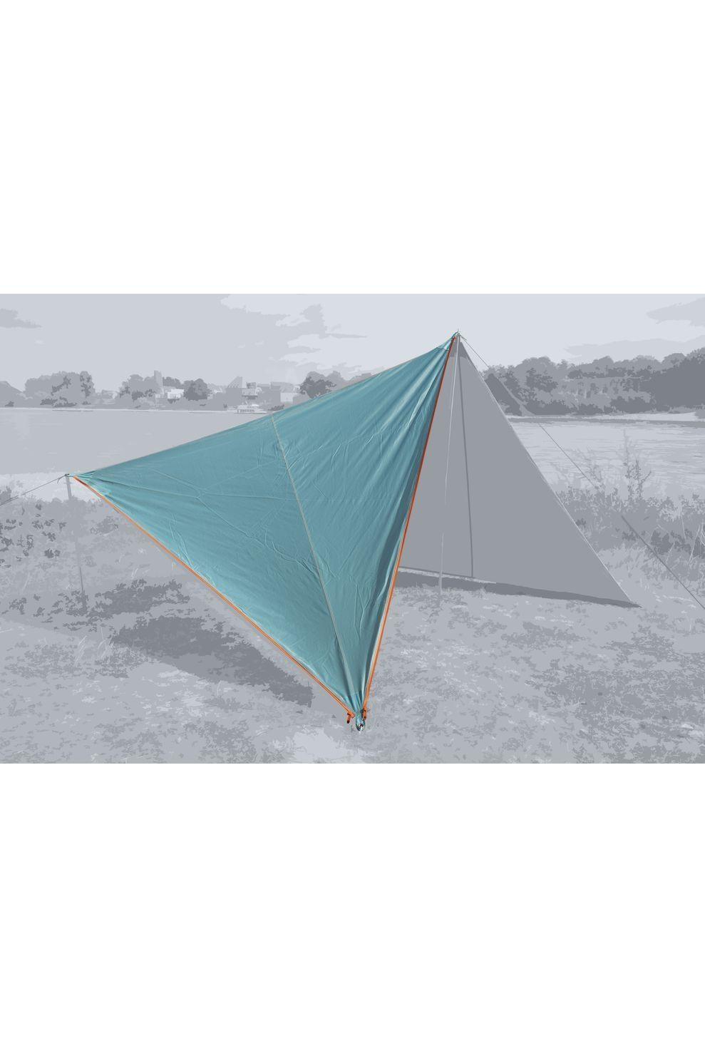 Bent Tarps Canvas Plain Single - Blauw
