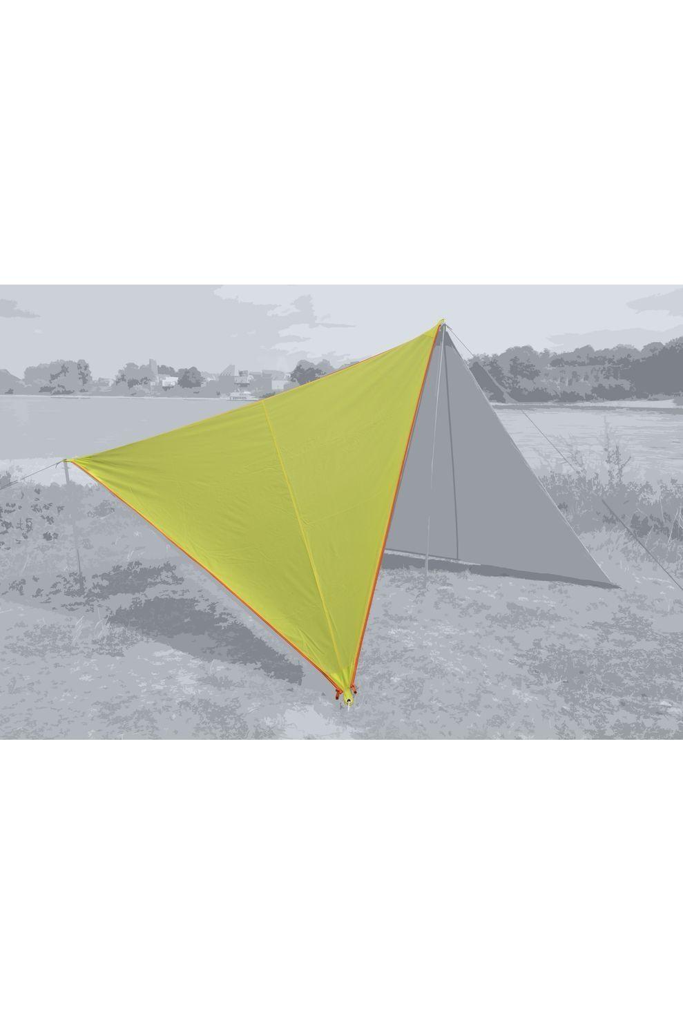 Bent Tarps Canvas Plain Single - Limoen Groen
