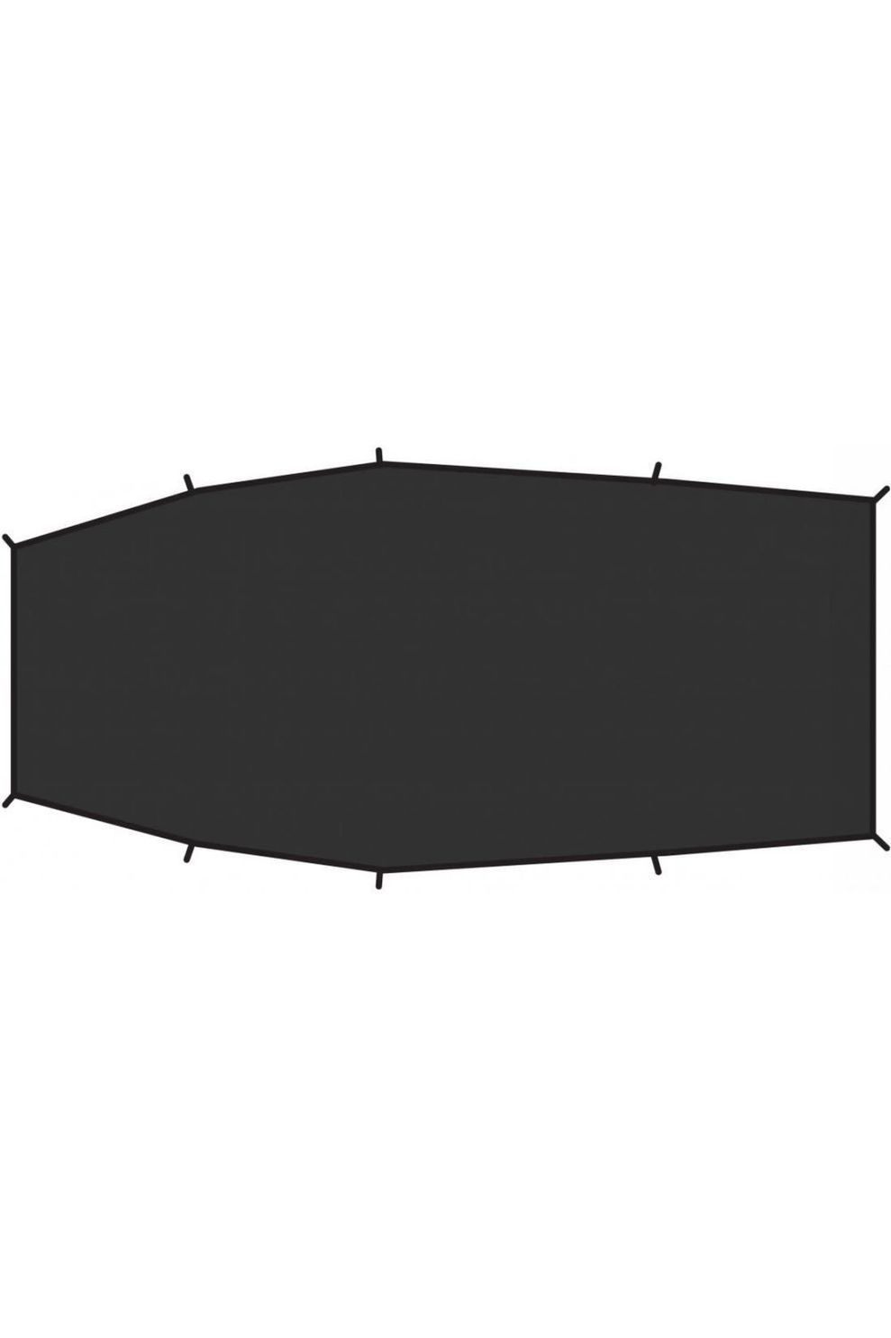 Fjällräven Grondzeil Shape 3 Footprint - Zwart