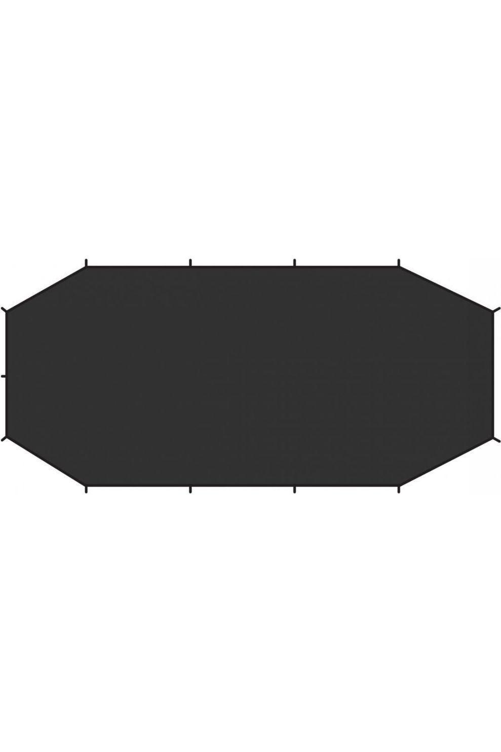 Fjällräven Grondzeil Endurance 4 Footprint - Zwart