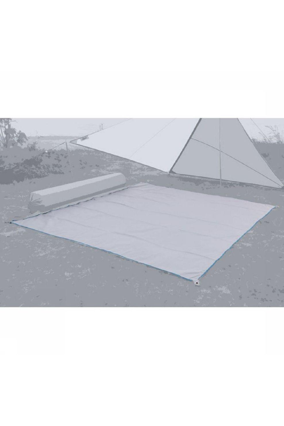 Bent Grondzeil Carpet Plain - Grijs