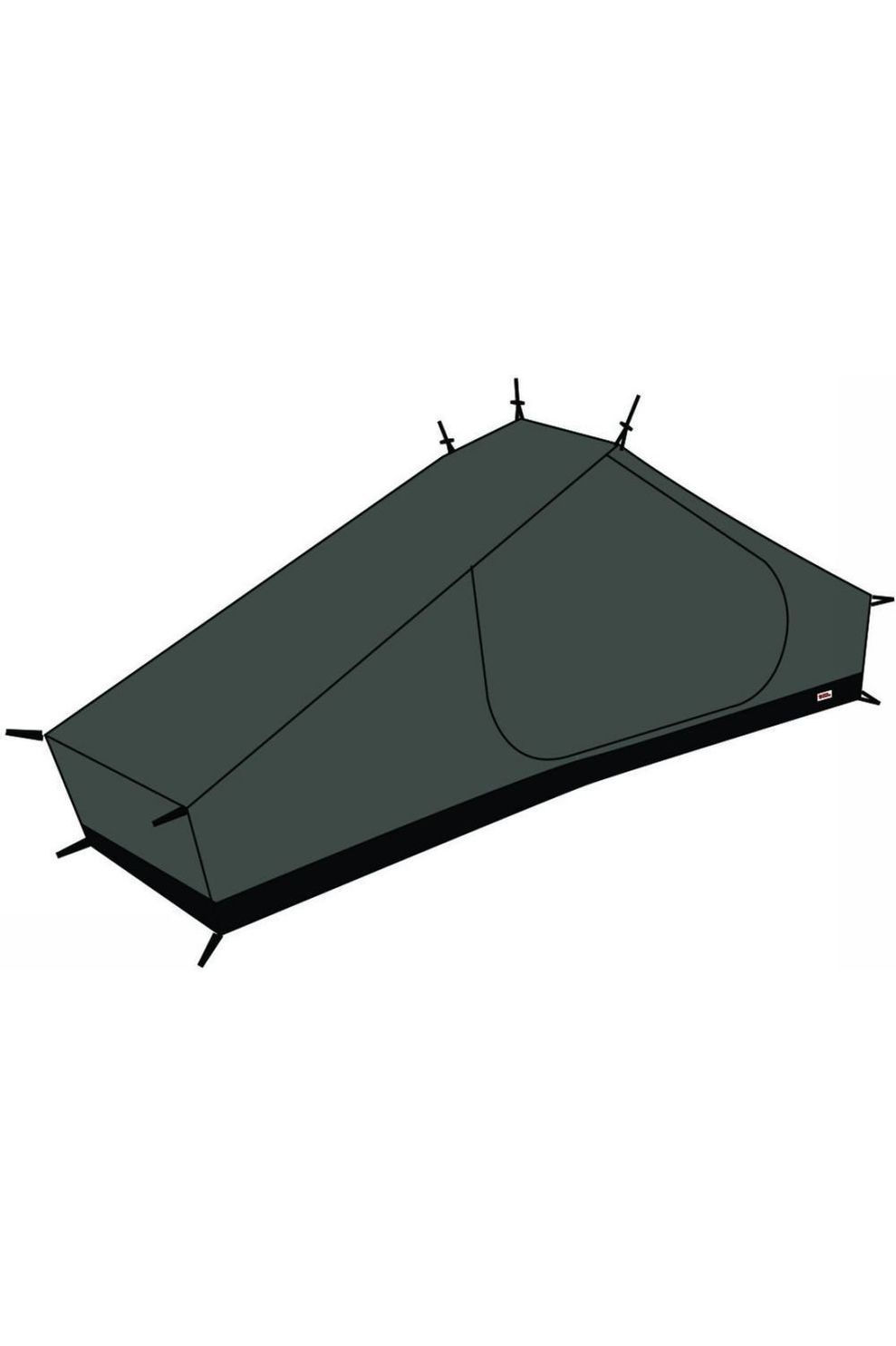 Fjällräven Voortent Mesh Inner Tent Lite 1 - Zwart