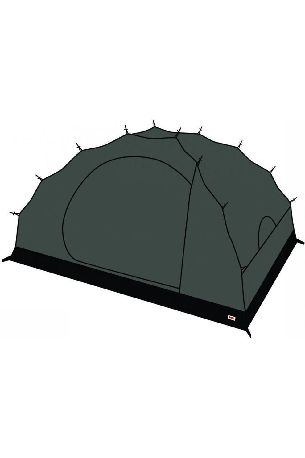 Fjällräven Voortent Mesh Inner Tent Dome 2 - Zwart