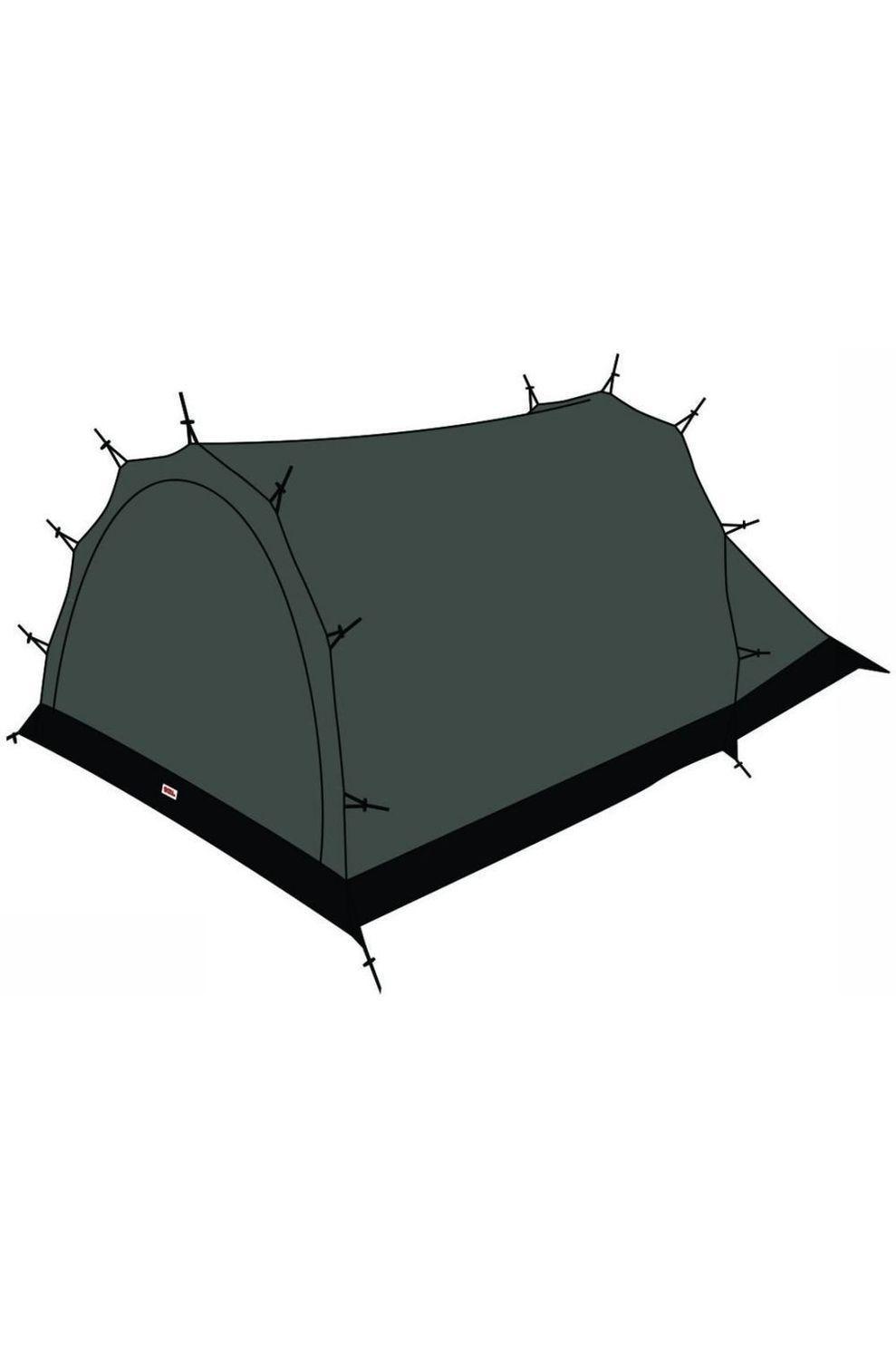 Fjällräven Voortent Mesh Inner Tent Endurance 2 - Zwart