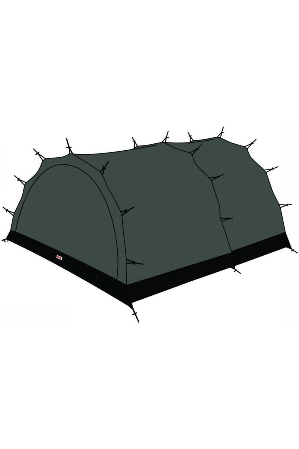 Fjällräven Voortent Mesh Inner Tent Endurance 4 - Zwart