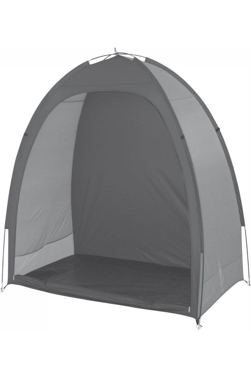 Bo-Camp Voortent Opbergtent Bike Shelter 1,8X0,85X1,85 Meter - Grijs