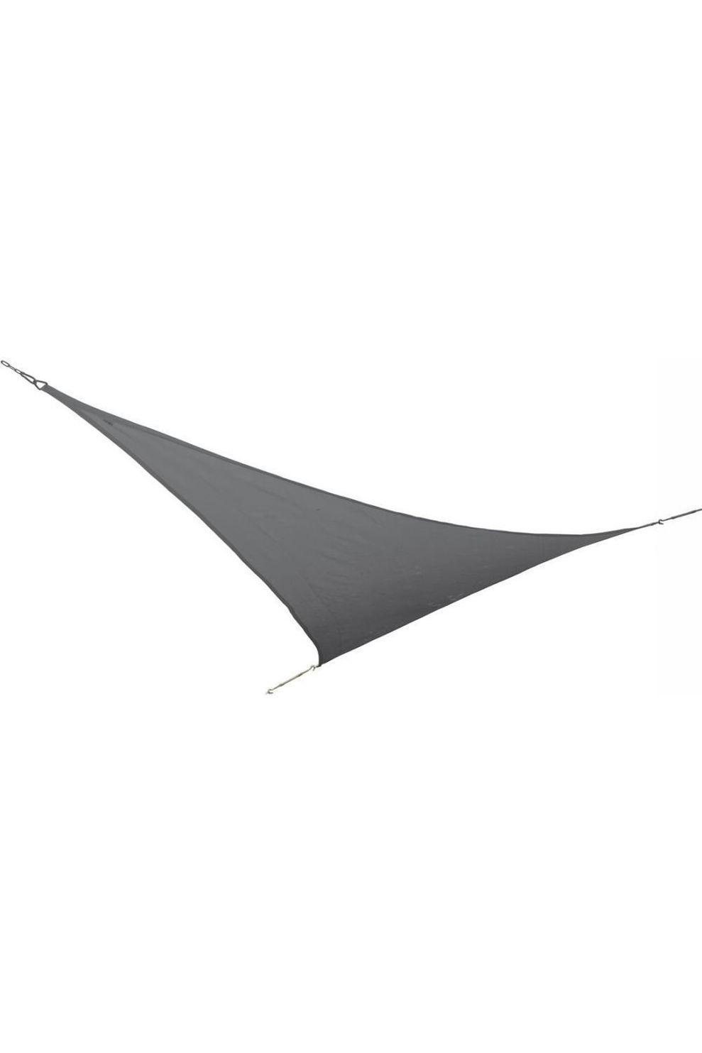 Bo-Garden Voortent Schaduwdoek Driehoek 3,6X3,6X3,6 Meter - Grijs