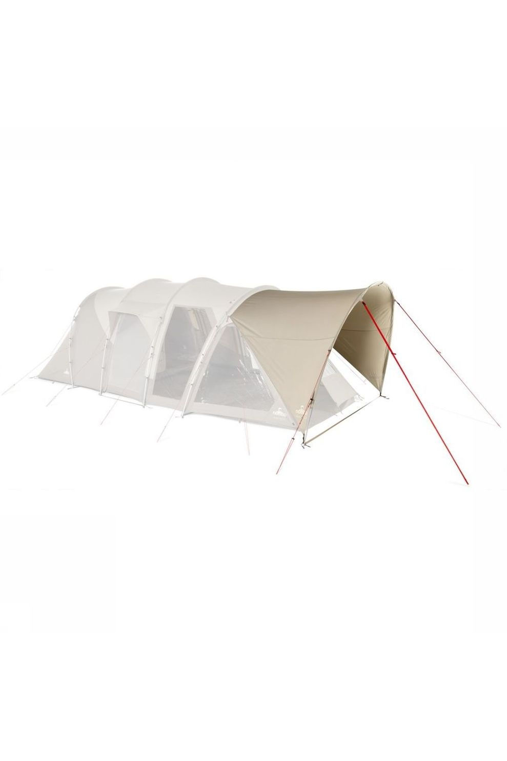Nomad Voortent Porch Dogon 4 Air - Bruin