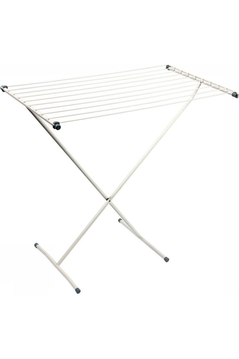 Bo-Camp Accessoire Droogrek Schaarmodel Draadlengte 9 Meter - Grijs