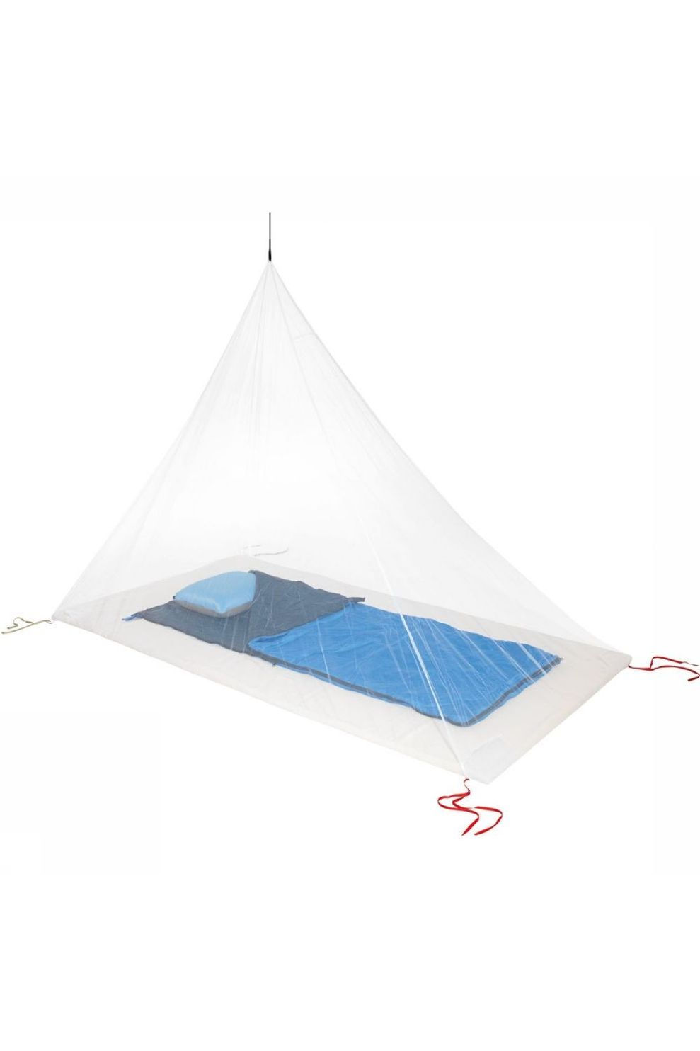 Cocoon Accessoire Mosquito Net Travel Ultralight Single - Wit