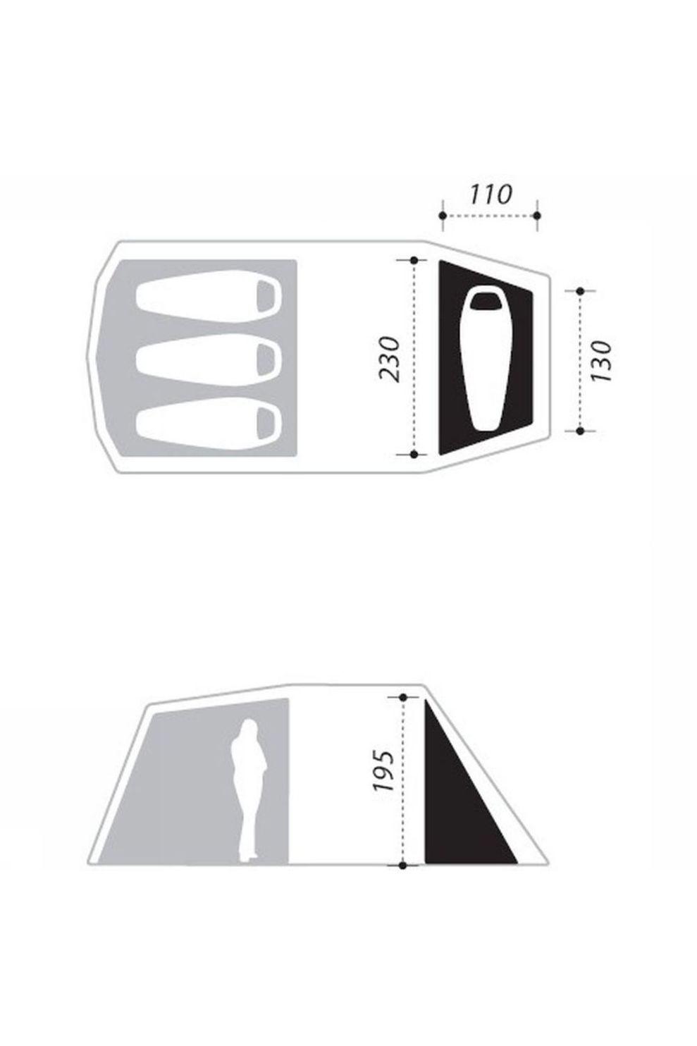 Nomad Accessoire Single Bedroom Dogon 3 (+1) - Bruin