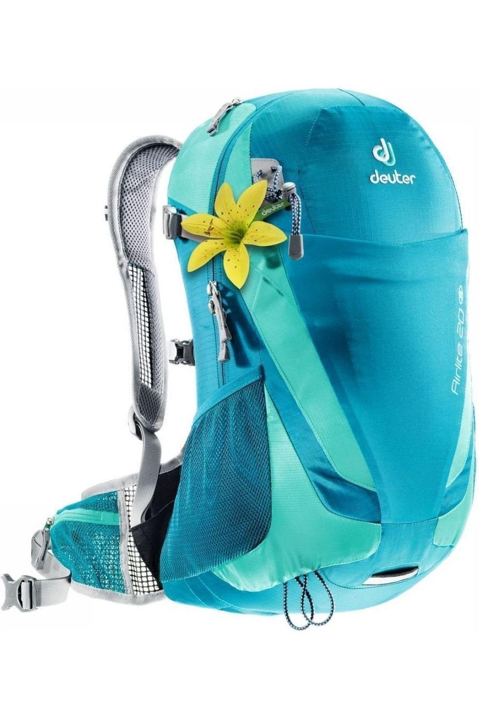 Deuter Dagrugzak Air Lite 20 SL voor dames - Blauw/Groen