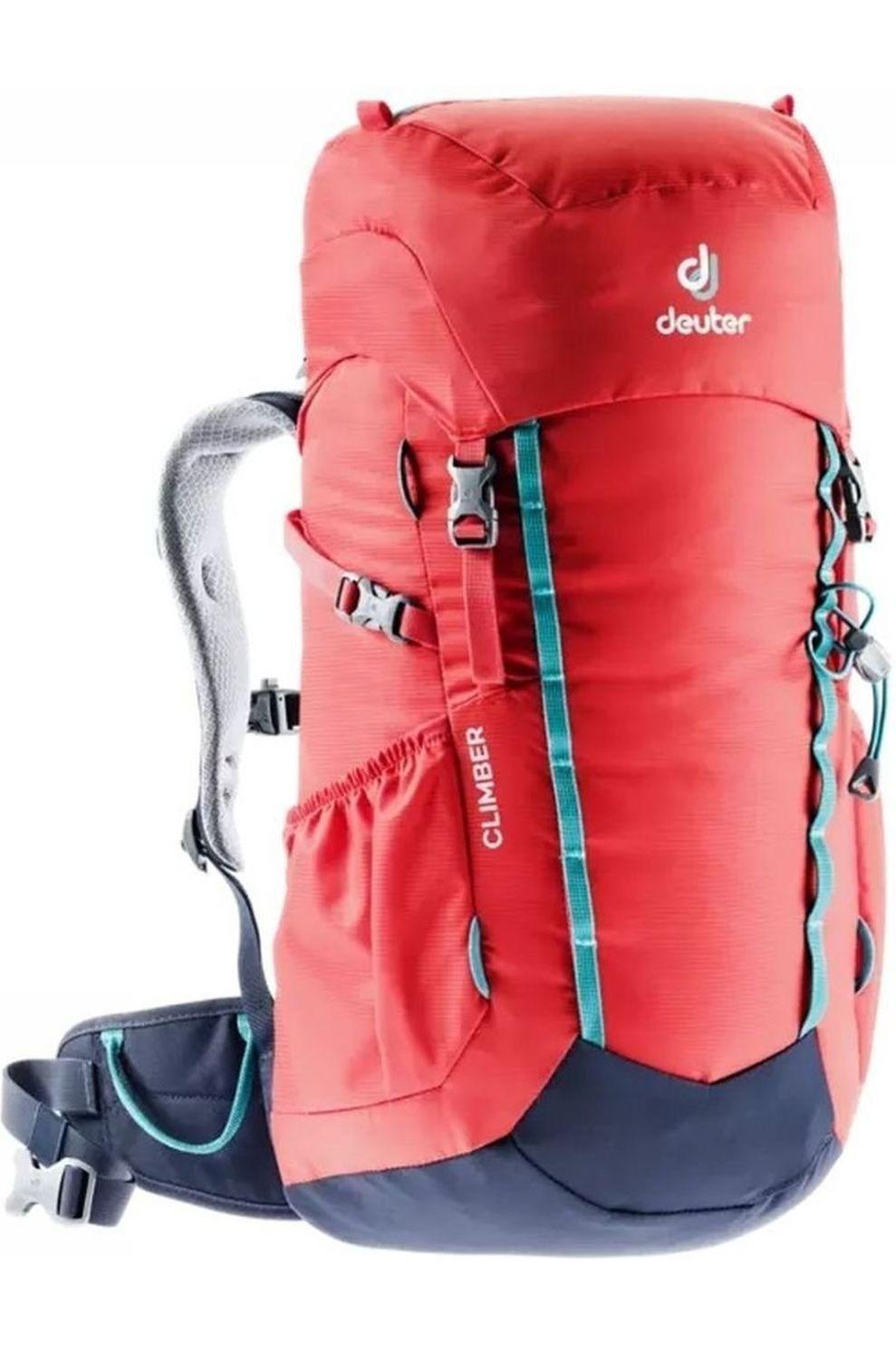 Deuter Dagrugzak Climber voor kids - Rood/Blauw