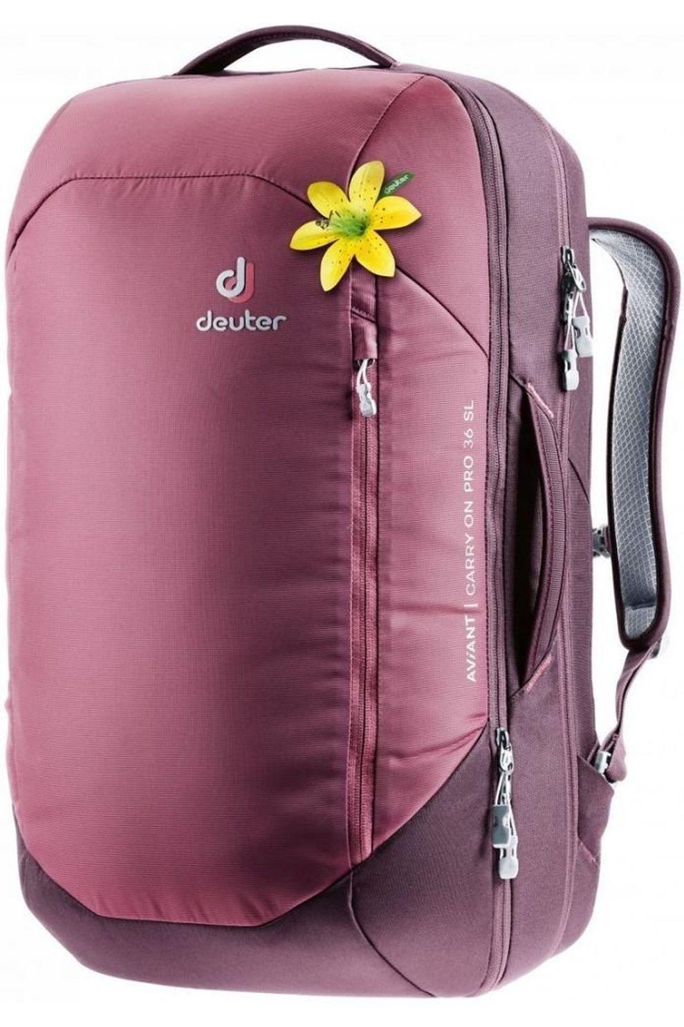 Deuter Tourpack Aviant Carry On Pro 36 Sl voor dames - Rood