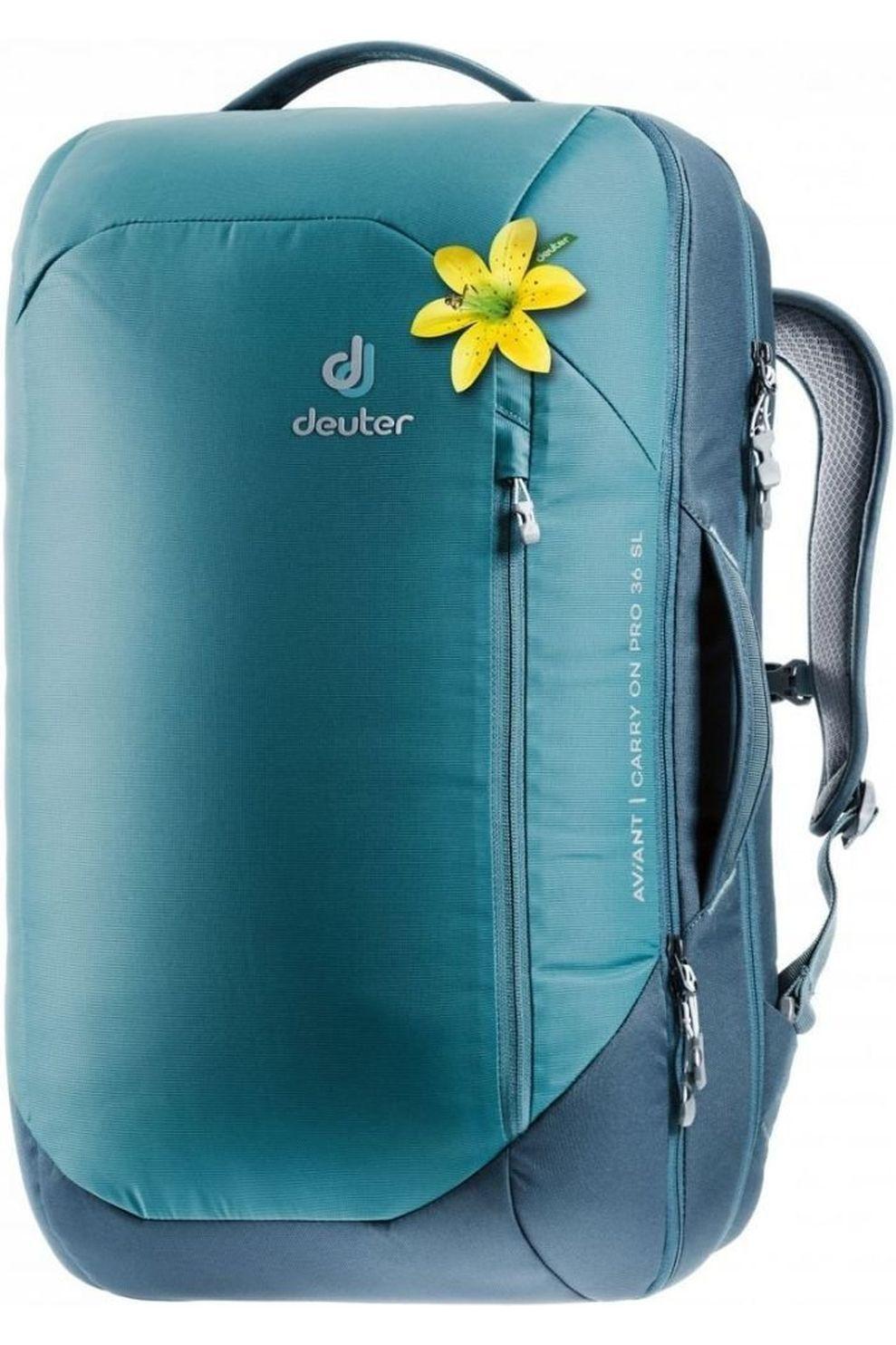 Deuter Tourpack Aviant Carry On Pro 36 Sl voor dames - Blauw