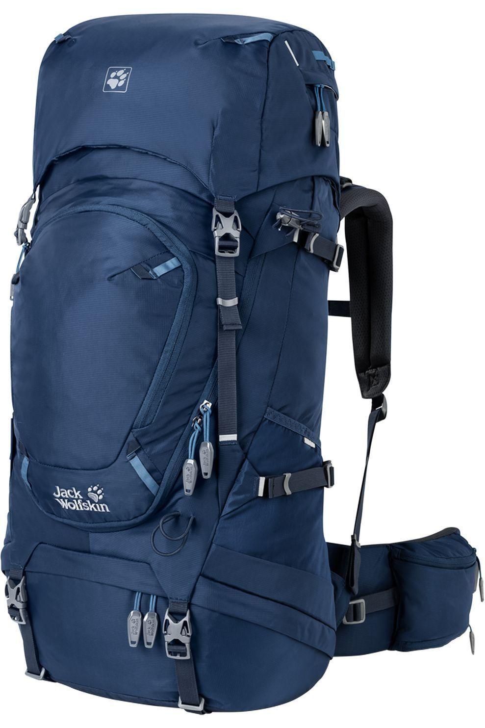 Jack Wolfskin Tourpack Highland Trail 45 voor dames Blauw