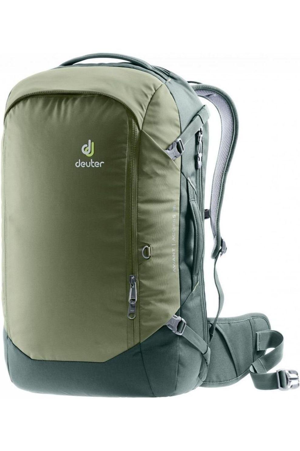 Deuter Tourpack Aviant Access 38 voor heren - LichtGroen/MiddenGroen