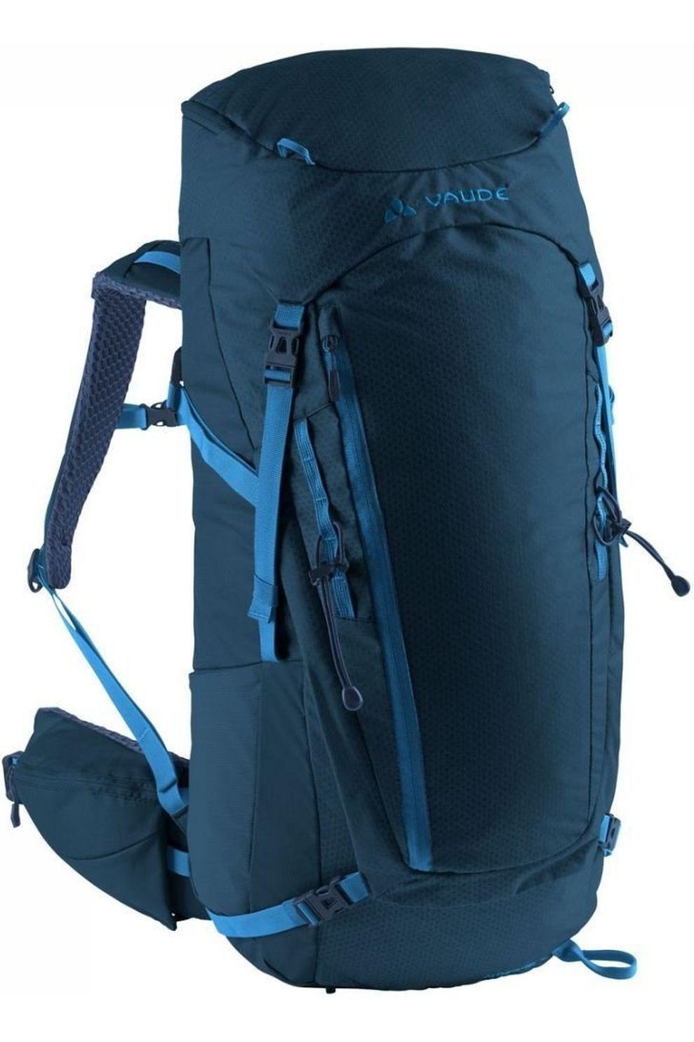 VAUDE Tourpack Asymmetric 42+8 - Blauw