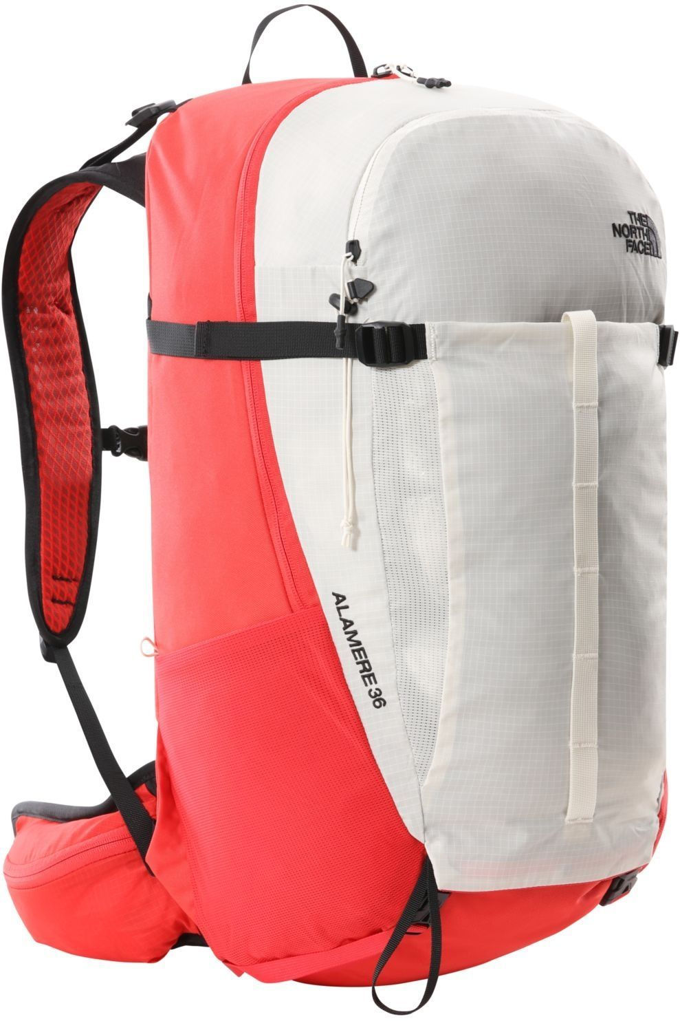 The North Face Tourpack Basin 36 voor heren - Wit/Rood