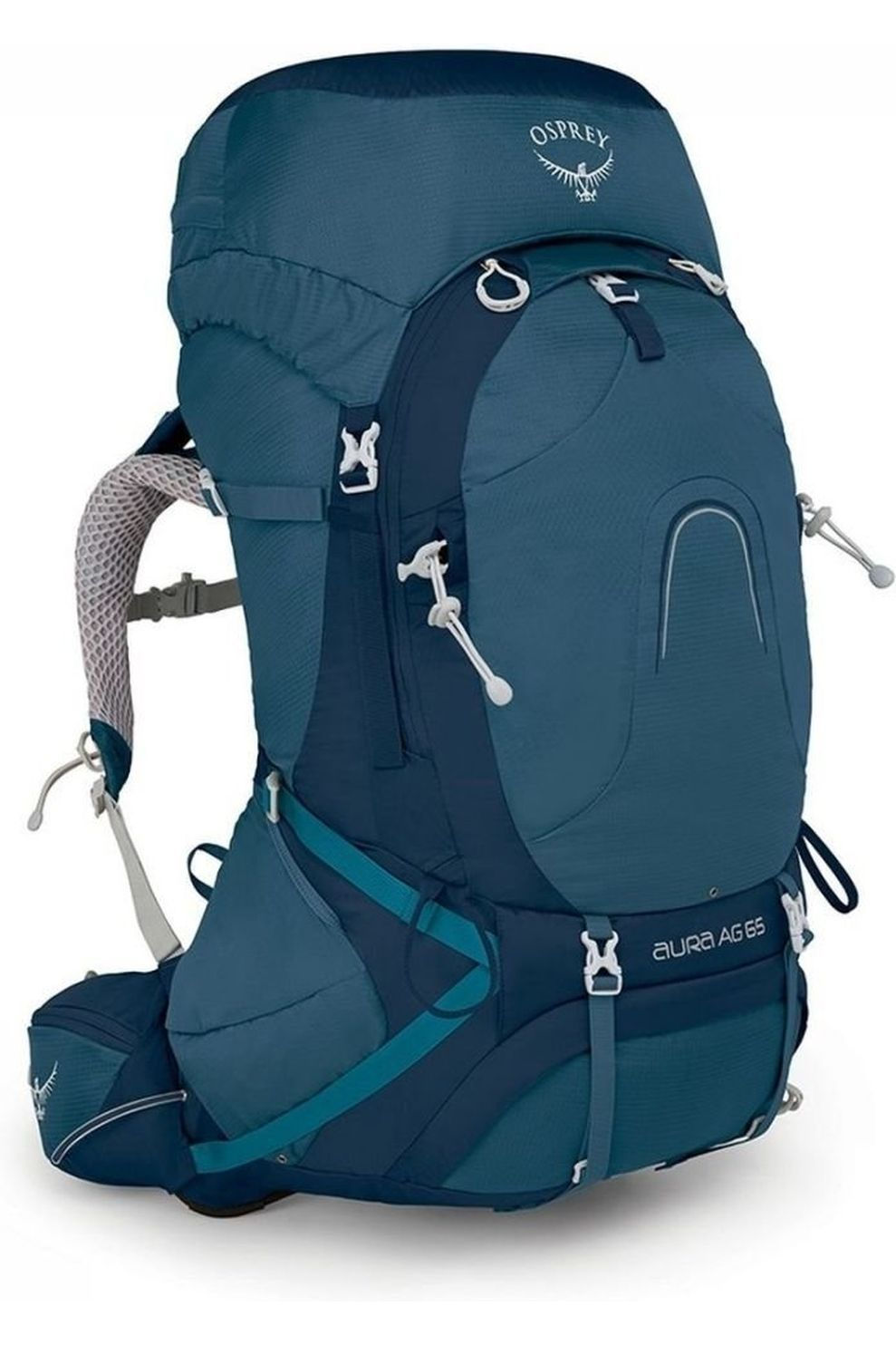 Osprey Rugzak Aura AG 65 voor dames - Blauw - Maten: S, M