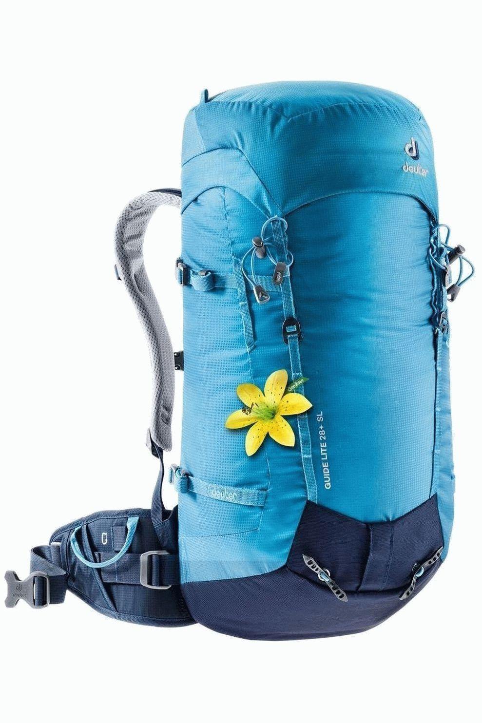 Deuter Alpinepack Guide Lite 28+ Sl voor dames - Blauw