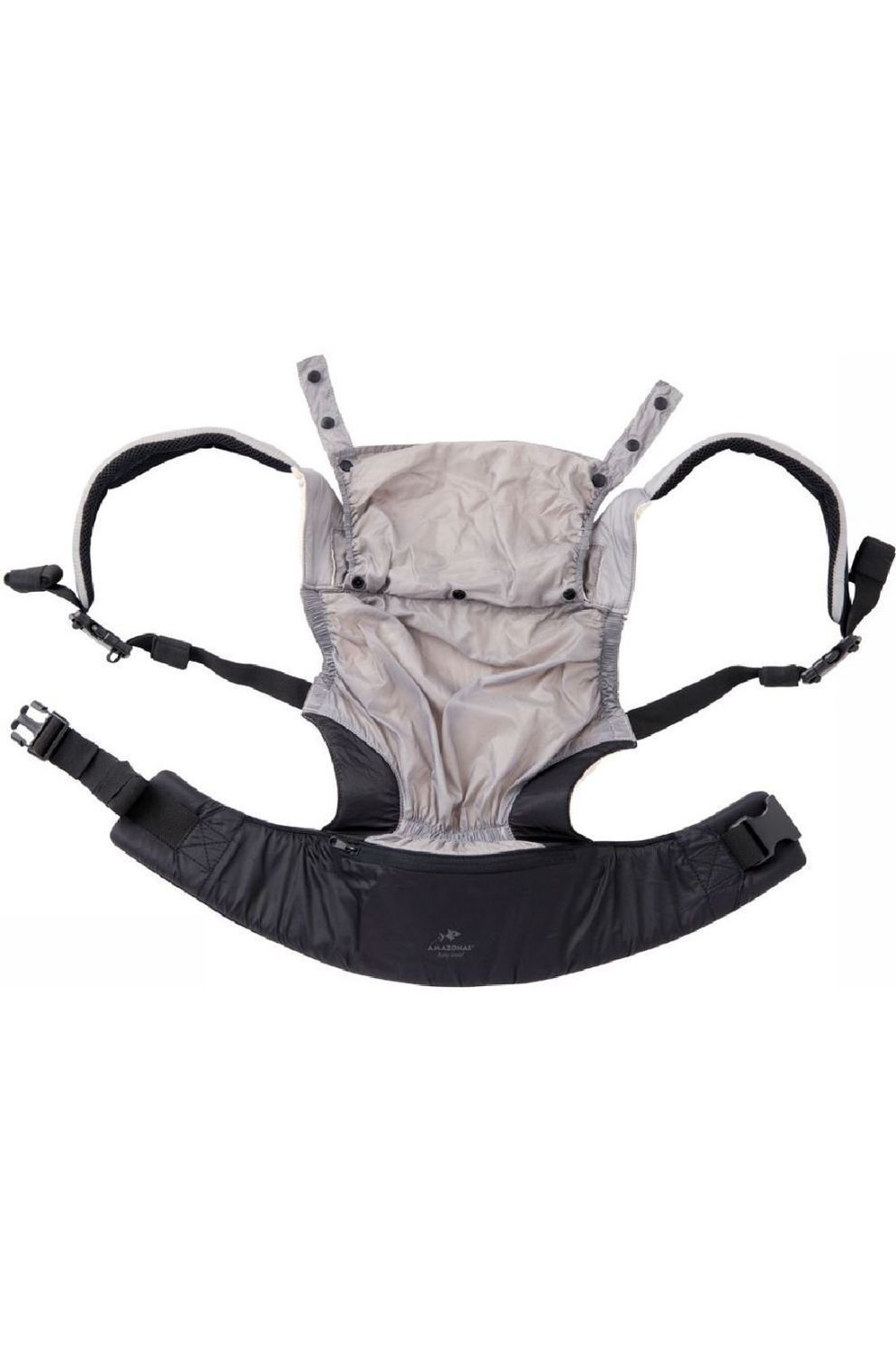Amazonas Babydrager Baby Smart Carrier Ultra-Light - Grijs