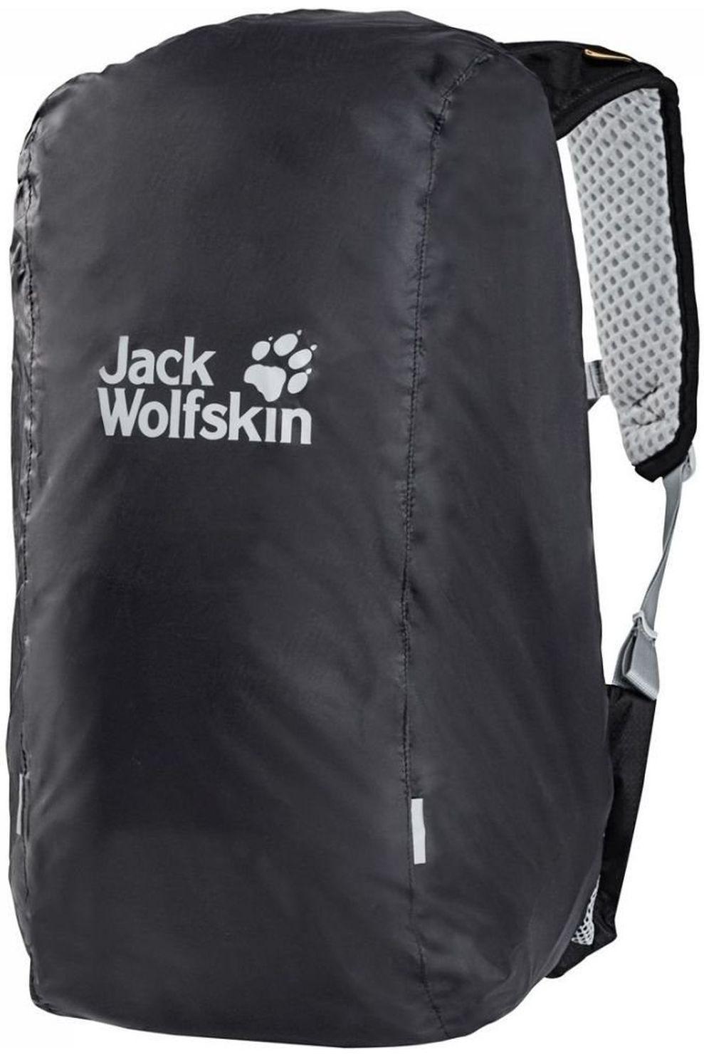Jack Wolfskin Regenhoes Raincover 30-40L - Grijs
