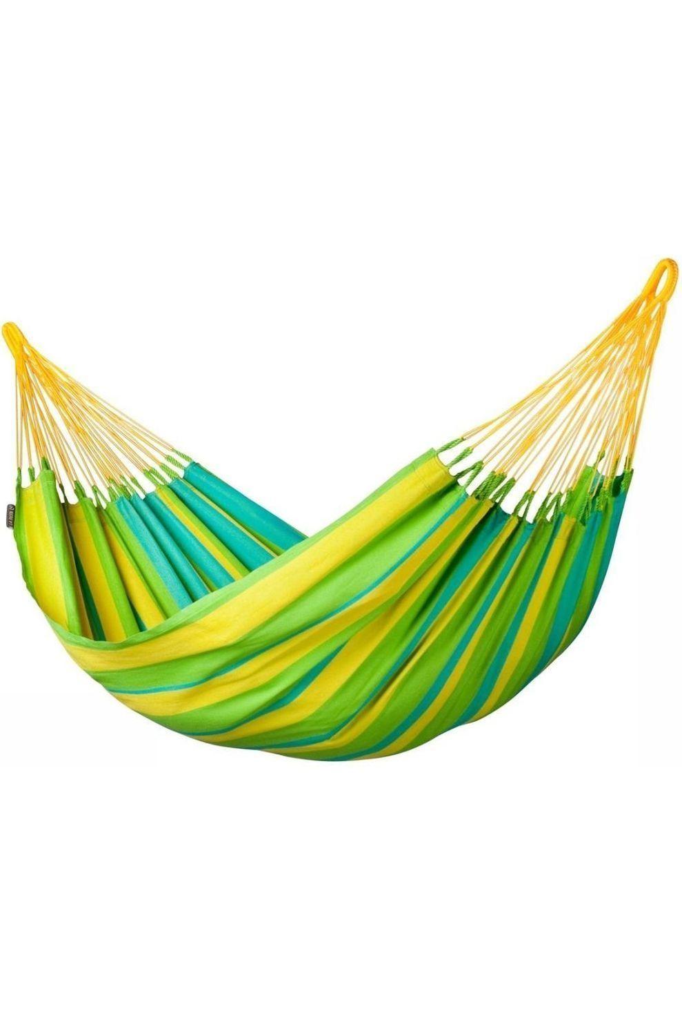 La Siesta Hangmat Sonrisa Single - Limoen Groen