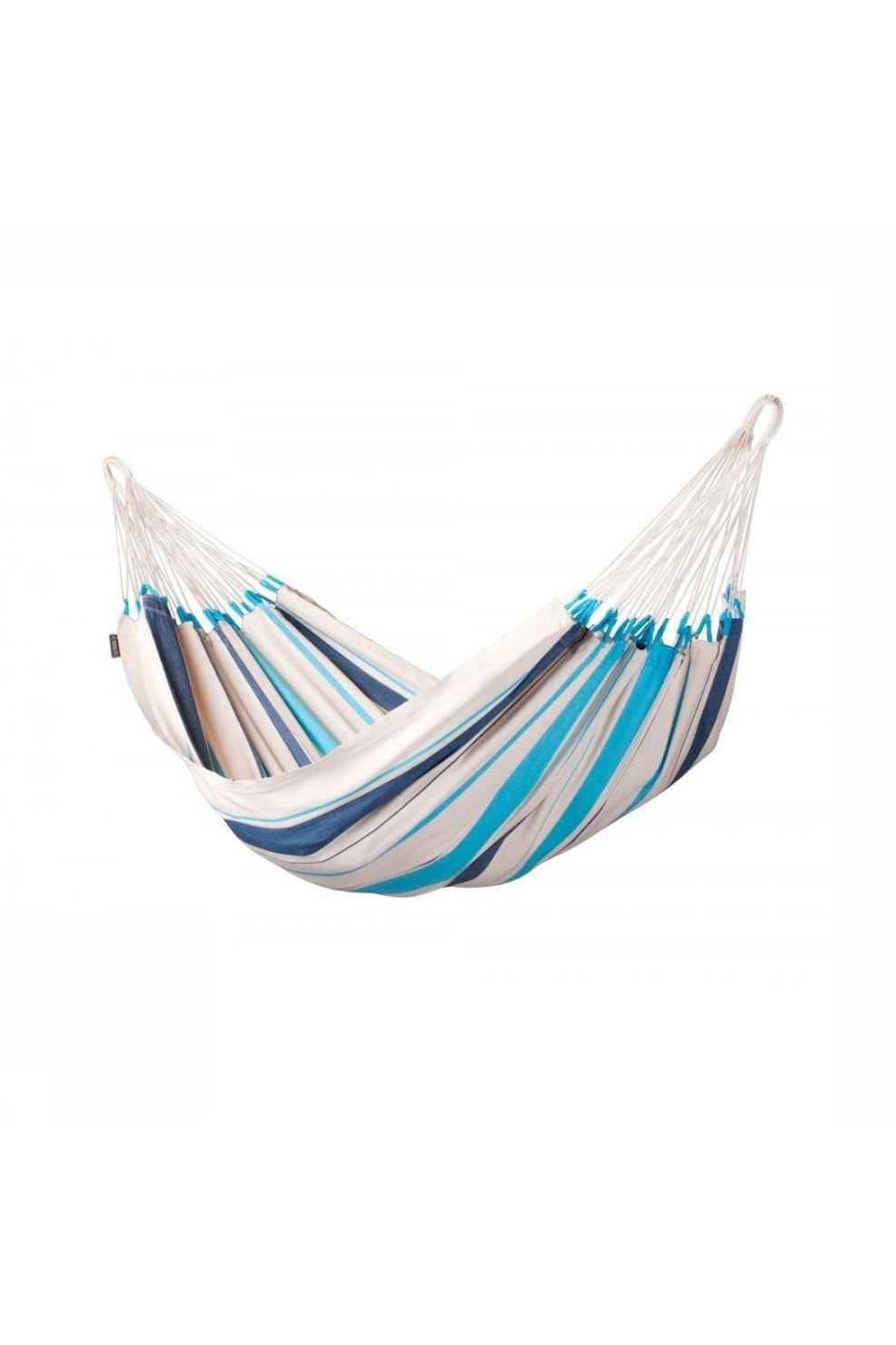 La Siesta Hangmat Caribeña Single - Blauw/Wit