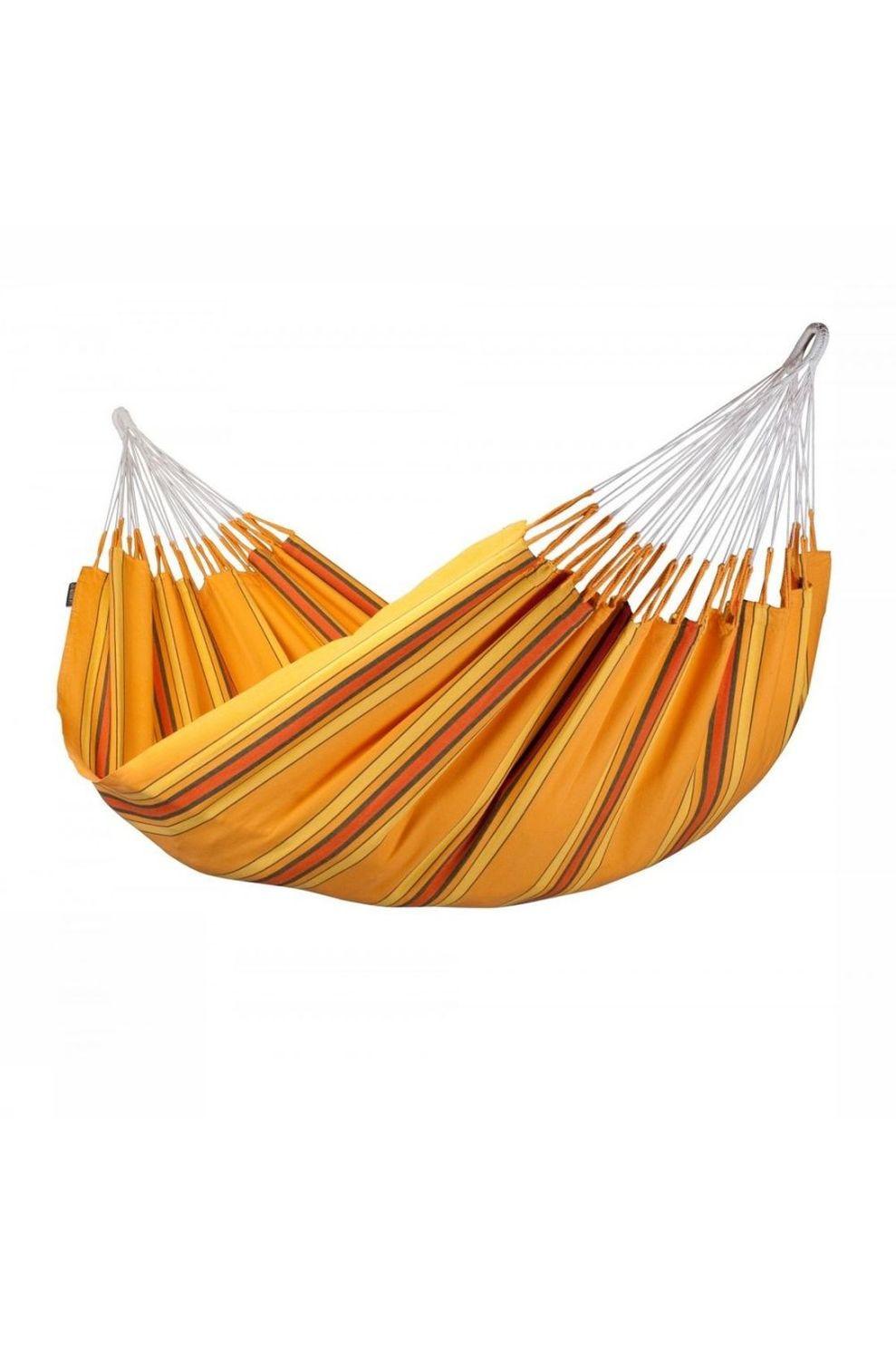 La Siesta Hangmat Currambera Double - Oranje/ Gemengd