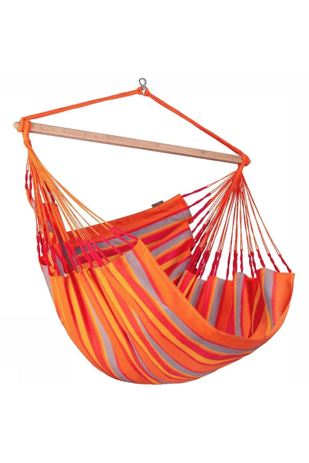 La Siesta Hangmat Domingo Lounger Chair - Rood/Oranje