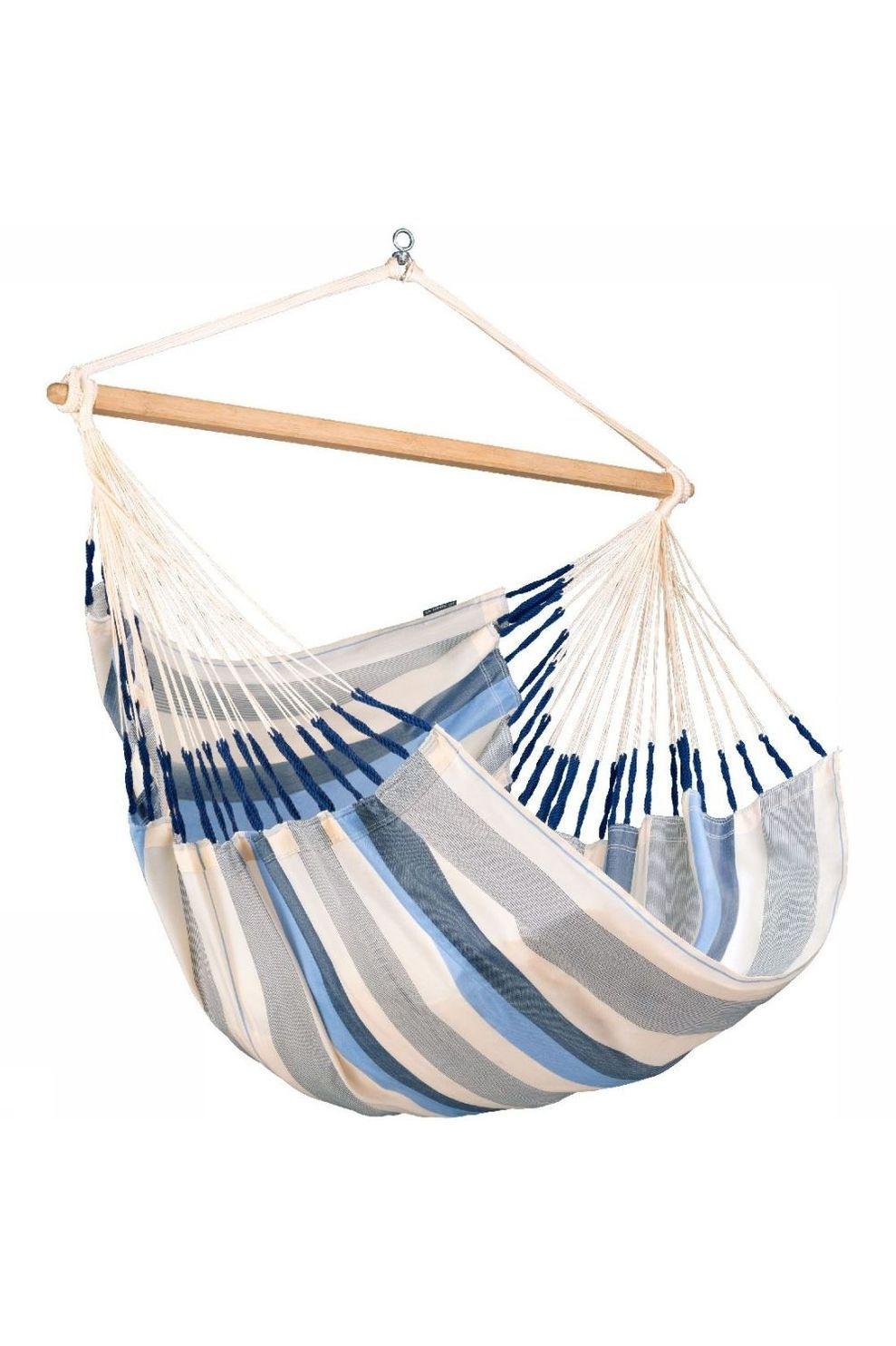 La Siesta Hangmat Domingo Lounger Chair - Blauw