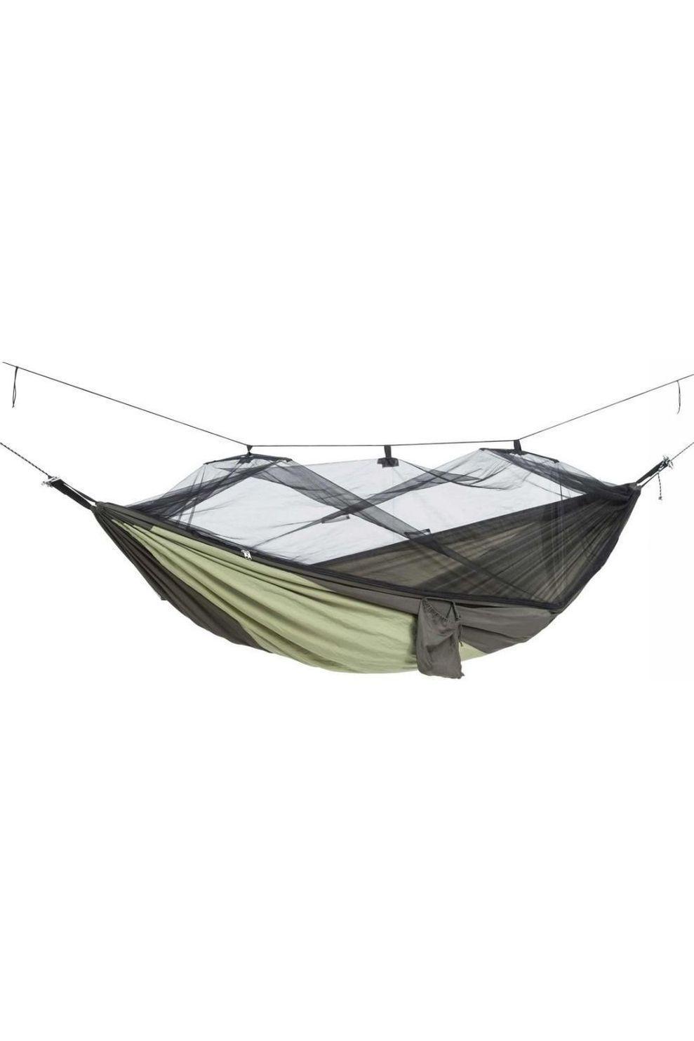 Amazonas Hangmat Moskito Traveller Thermo - Grijs/Groen