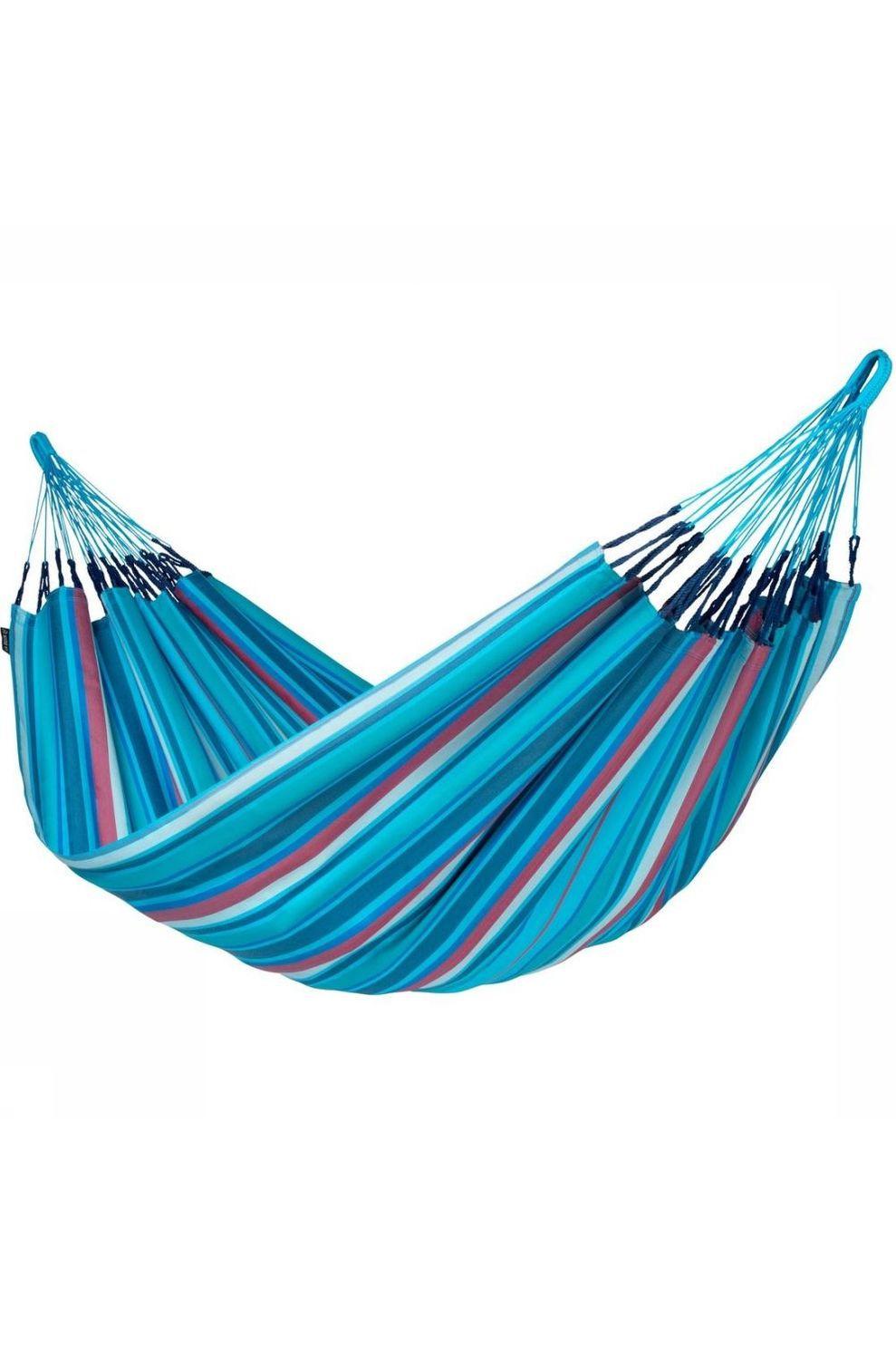 La Siesta Hangmat Brisa Double - Blauw/Rood