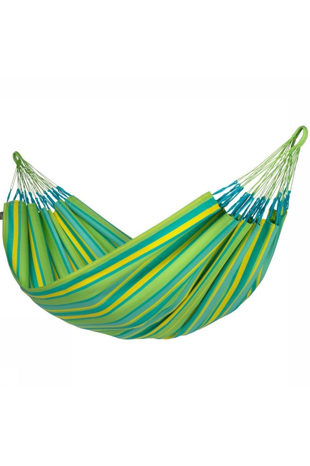 La Siesta Hangmat Brisa Double - Limoen Groen/Geel