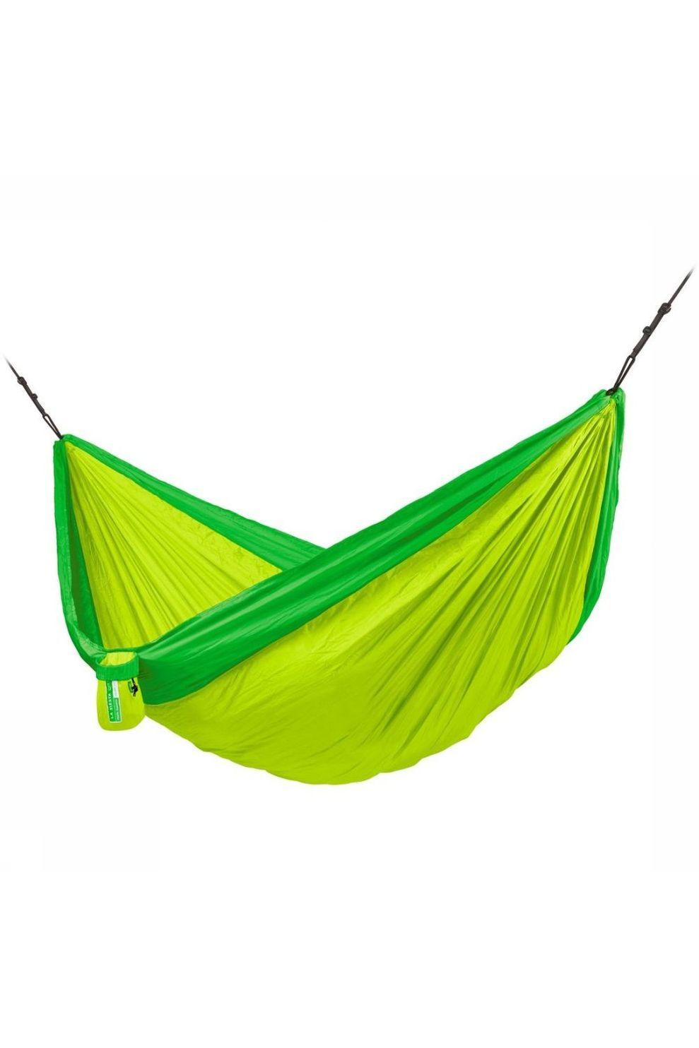 La Siesta Hangmat Colibri 3.0 Double - Limoen Groen