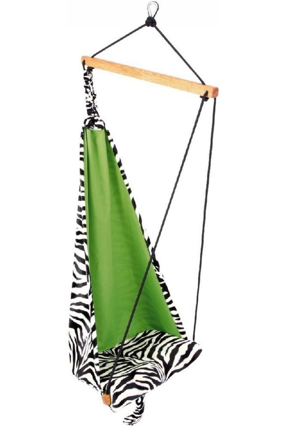 Amazonas Hangmat Hang Mini Zebra voor kids - Zwart/Wit
