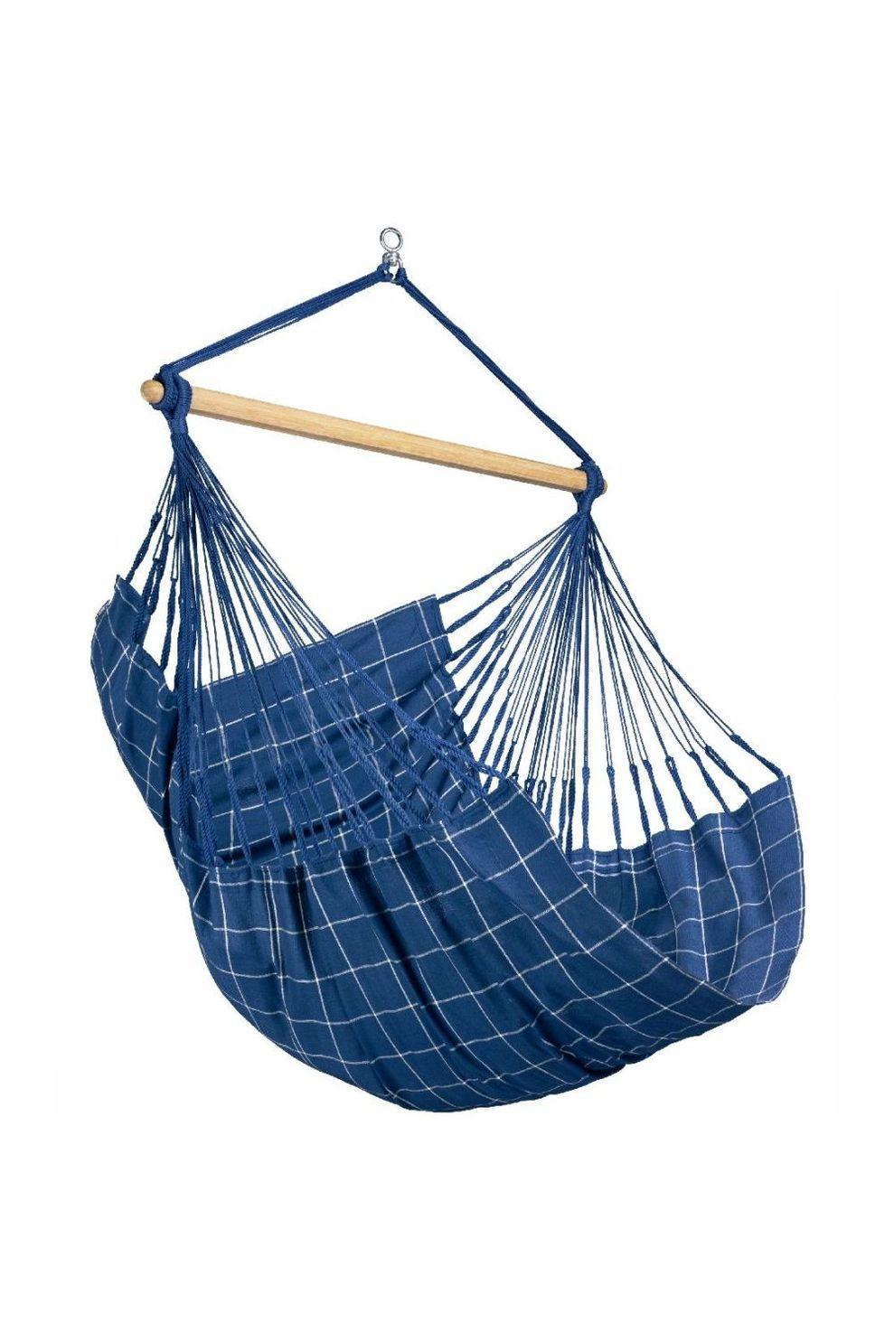 La Siesta Hangmat Domingo Hammock Chair - Blauw/ Gemengd