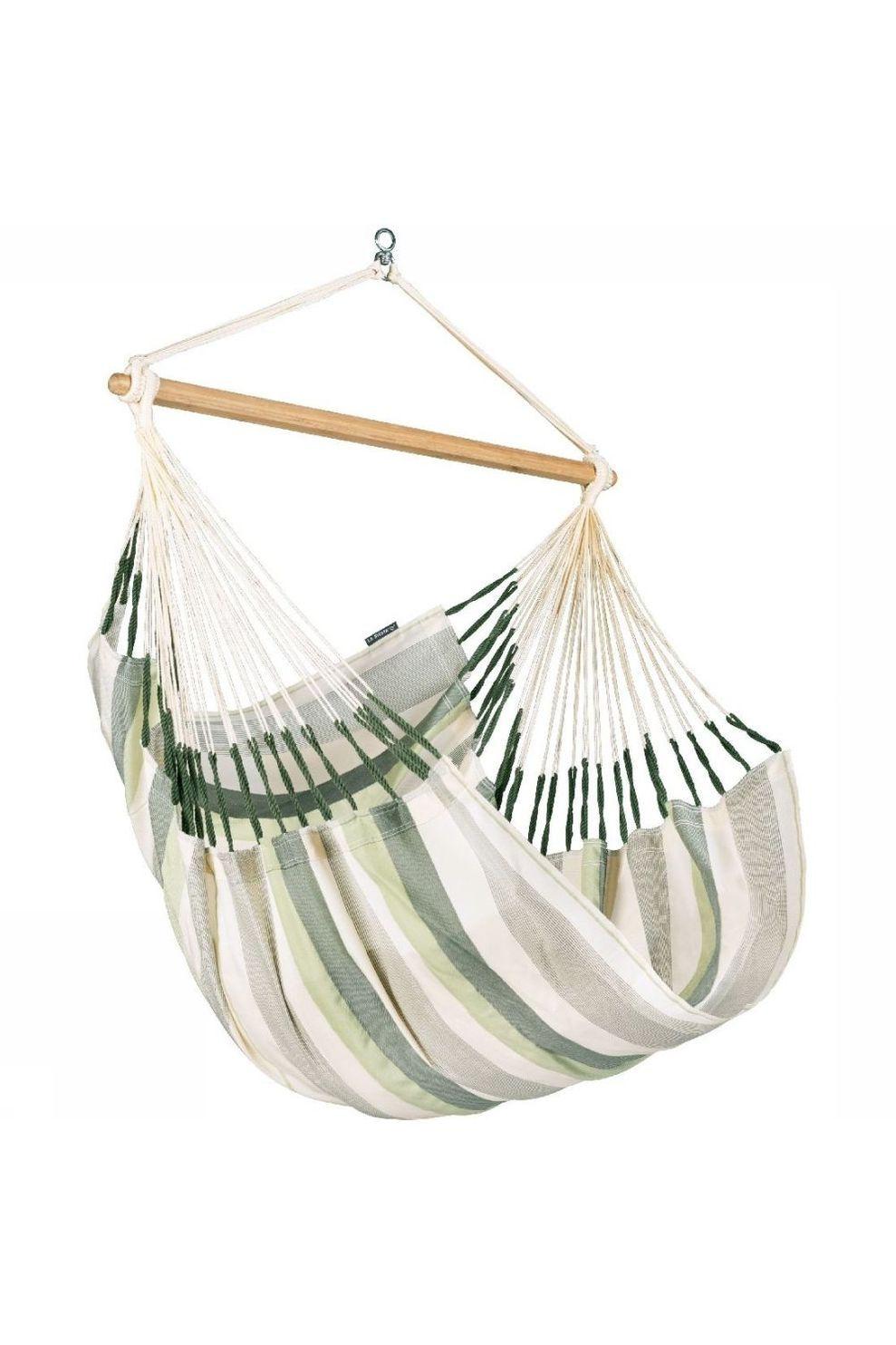 La Siesta Hangmat Domingo Hammock Chair - Groen/ Gemengd