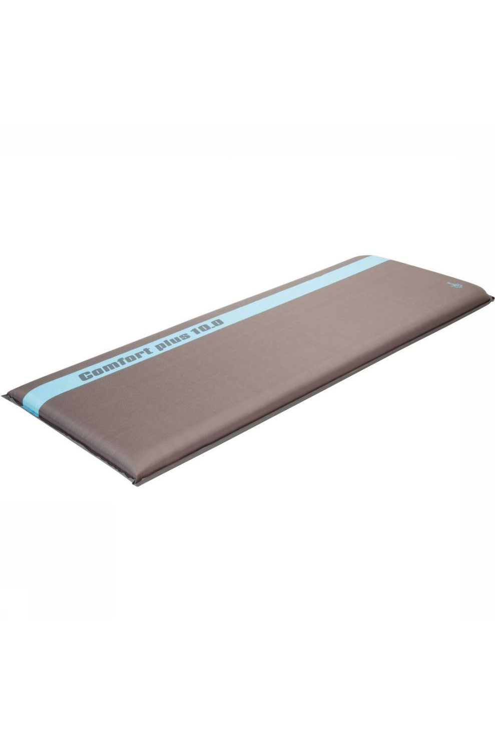 Bo-Camp Slaapmat Si Comfort Plus 10.0 198X63X10 Cm - Grijs/Blauw