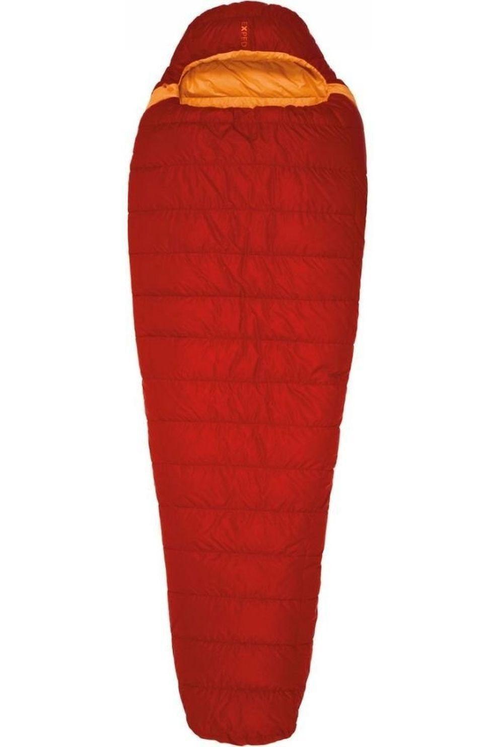 Exped Slaapzak Lite -5° M - Rood/Oranje - Maat: LEFT